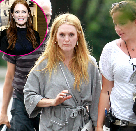 Julianne Moore Dyes Her Red Hair Blonde for Maps to the Stars Movie Role