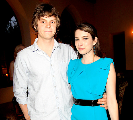 "Emma Roberts, Evan Peters Have ""Extreme,"" ""Passionate"" Relationship"