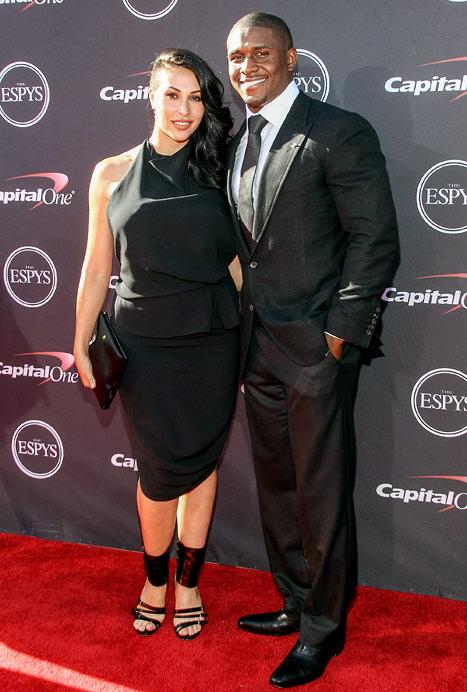 Reggie Bush's Fiancee Lilit Avagyan Shows Off Post-Baby Body at ESPY Awards