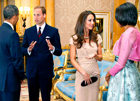 President Obama Congratulates Kate Middleton, Prince William on Royal Baby