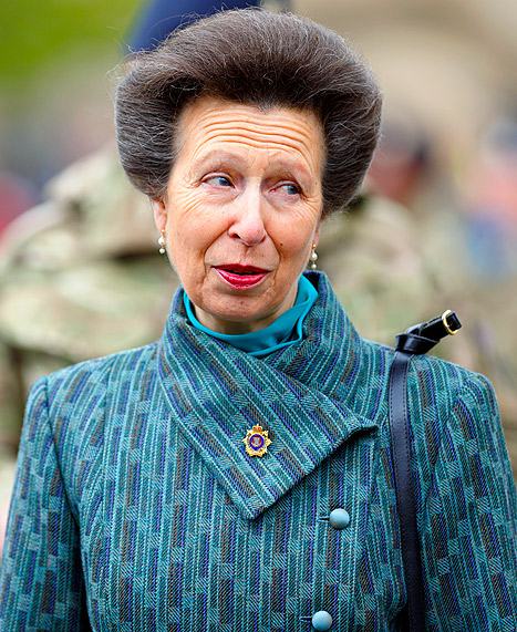 "Princess Anne on Royal Baby's Birth: ""Nothing to Do With Me"""
