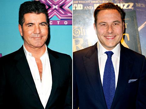 """Simon Cowell Is """"Doing a Baby With a Lady,"""" Teases Pal David Walliams"""