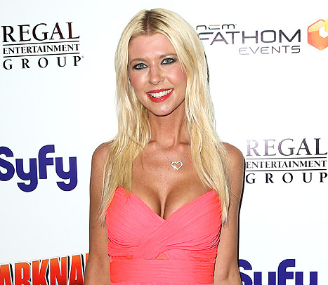 "Tara Reid Asks: ""How Do a Whale and a Shark Have Sex?"""