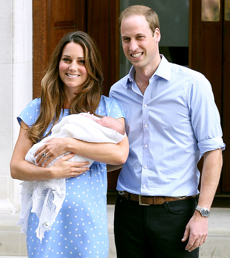 "Prince William ""Hoping"" to Tour Australia With Baby Prince George in 2014"
