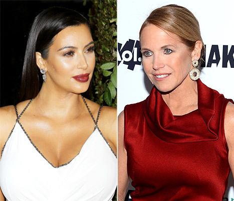 "Kim Kardashian Blasts Katie Couric's Gift to North West: ""I Hate Fake Media Friends"""
