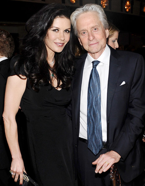 "Catherine Zeta-Jones, Michael Douglas ""Taking Some Time Apart"""