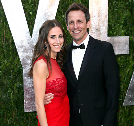 Seth Meyers Marries Longtime Girlfriend Alexi Ashe!
