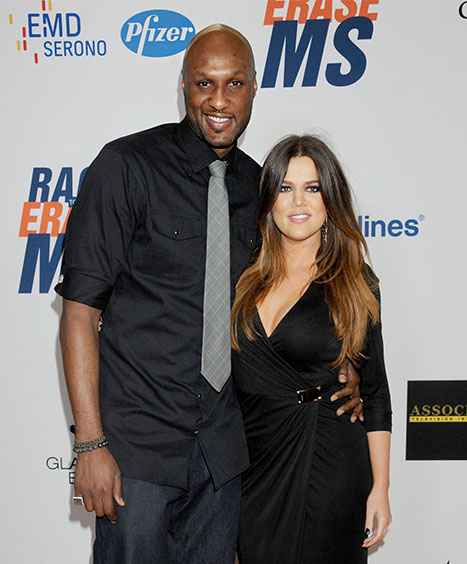 "Khloe Kardashian After Lamar Odom's DUI Arrest: ""Smile and No One Will Notice"""