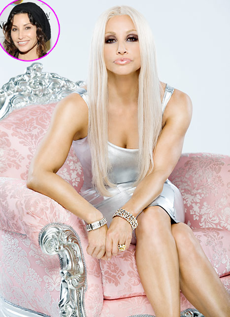 Gina Gershon Looks Unrecognizable as Donatella Versace in Film Transformation: Picture