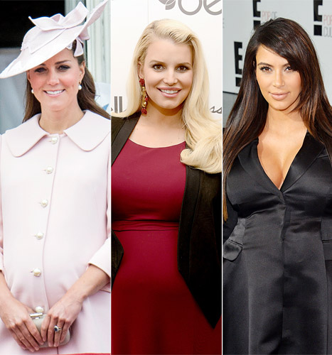 Jessica Simpson: I Envied Kate Middleton's Pregnancy, Empathized With Kim Kardashian