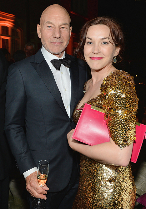 Patrick Stewart Marries Girlfriend Sunny Ozell, Ian McKellen Officiates