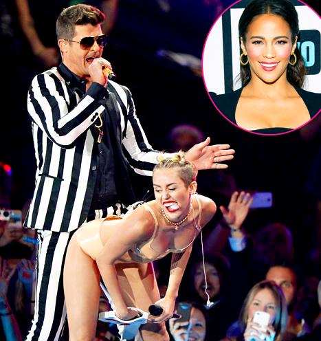 Paula Patton Reacts to Miley Cyrus Twerking on Robin Thicke, Twerks on Al Roker!