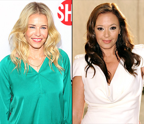 """Chelsea Handler Jokes Leah Remini """"Can't Dance"""" on Dancing With the Stars"""