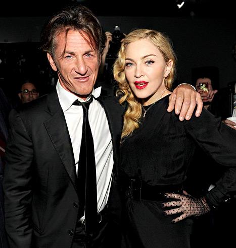 "Madonna, Senn Penn Reunion Picture: Lindsay Lohan Also Attends ""Secret Project"" Event"