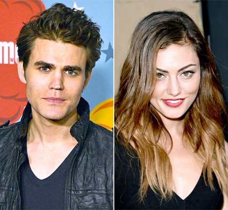 Paul Wesley Is Dating Former Vampire Diaries Costar Phoebe Tonkin!