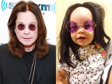 Jack Osbourne Dresses Daughter Pearl Like Rocker Dad Ozzy Osbourne: Picture