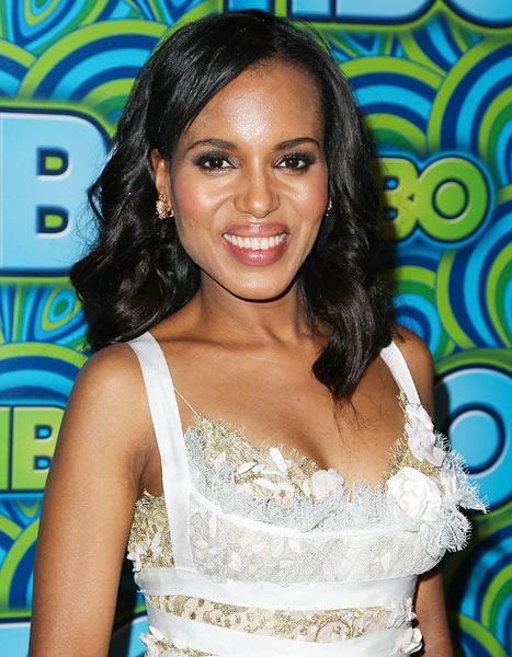 Kerry Washington: I Watch What I Eat, Don't Drink Alcohol
