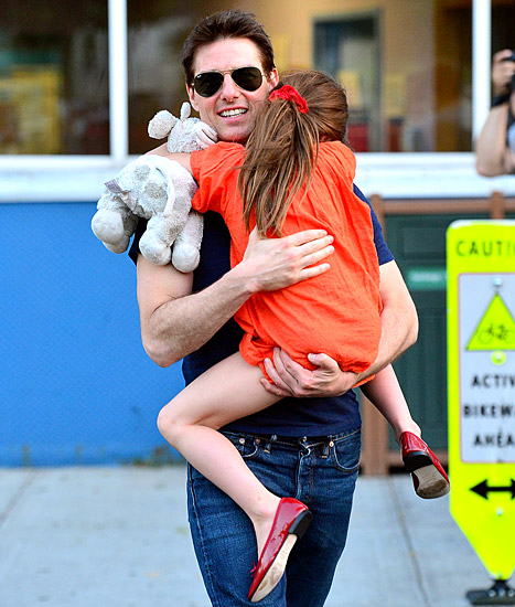 "Tom Cruise: I Never ""Abandoned"" Suri, We're ""Extremely Close,"" He Says in Lawsuit"