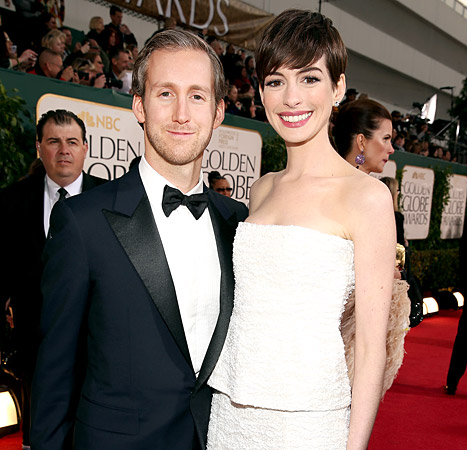 Anne Hathaway Is Not Pregnant, Brother's Joke Misinterpreted: Rep