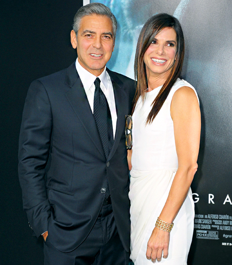 George Clooney Jokes That Sandra Bullock Drunk Dials Him Every Night