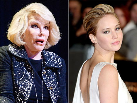Joan Rivers Slams Jennifer Lawrence For Fashion Police Diss, Calls Her Arrogant