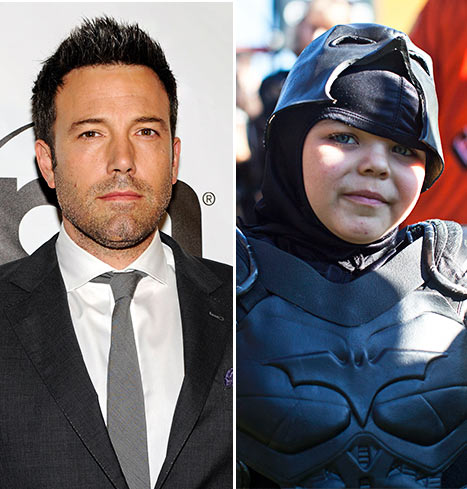 "Ben Affleck Says Batkid, 5-year-Old Leukemia Patient, Is ""Best Batman Ever"""