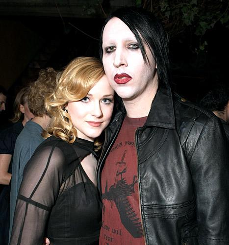 "Evan Rachel Wood: People Were ""Pretty Mean"" About My Marilyn Manson Romance"