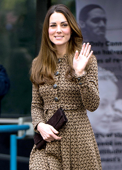 Kate Middleton Looks Slim, Radiant as She Recycles Outfit for Charity Event: Picture