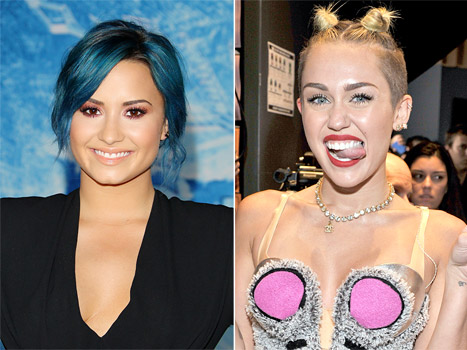 "Demi Lovato Compares Herself to Miley Cyrus: ""I Didn't Twerk, I Just Went Straight to Rehab"""