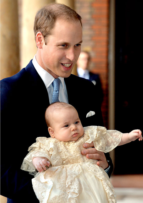 Prince George Given Four Heifers, Bull, Goat as Christening Gift From Kenyan Tribe