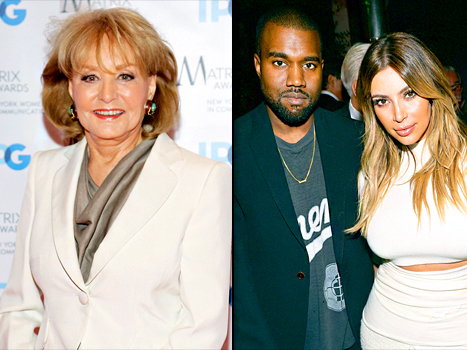 Barbara Walters' Most Fascinating People of 2013 Revealed: Kim Kardashian and Kanye West Included!