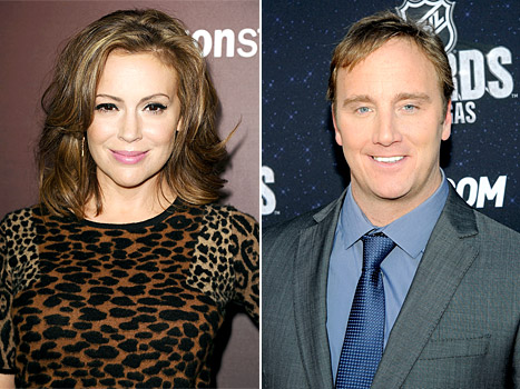 Alyssa Milano Responds to Jay Mohr After Comedian Takes Jab At Her Weight