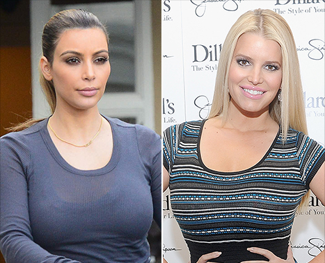 Kim Kardashian's Revealing Selfies; Jessica Simpson's Son Ace at 6 Months: Top 5 Weekend Stories