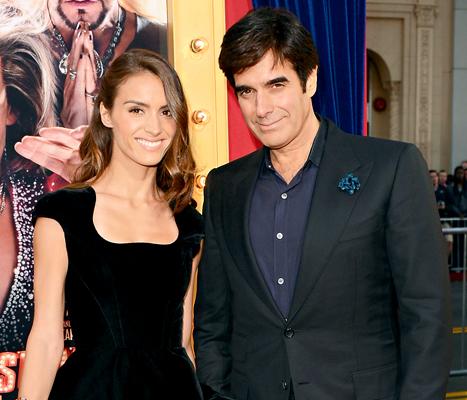 David Copperfield, 57, Engaged to Chloe Gosselin, 28