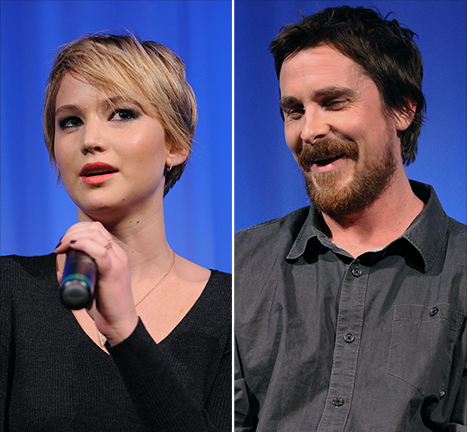 "Jennifer Lawrence Wanted to Kiss ""Batman"" Christian Bale In American Hustle, Not ""Fatman"""