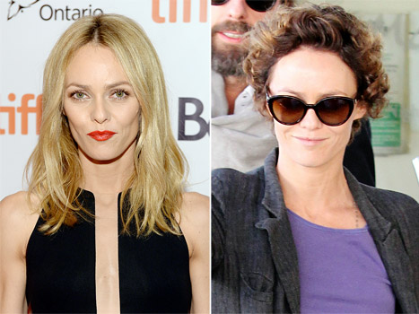 Vanessa Paradis' Shocking Makeover: See Johnny Depp's Ex With a Short Brunette Perm