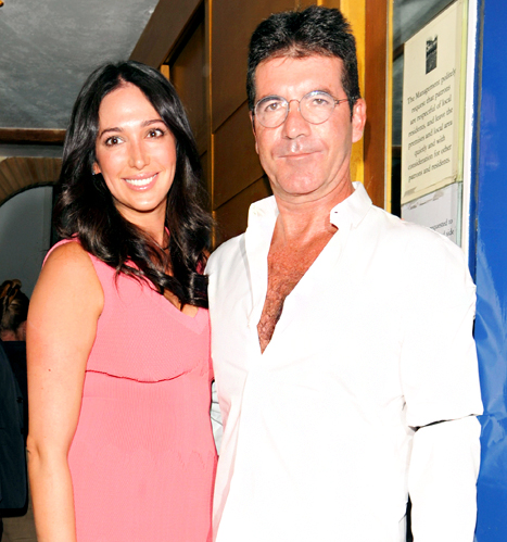 Simon Cowell's Girlfriend Lauren Silverman Gives Birth to Baby Boy: Couple Names Son Eric