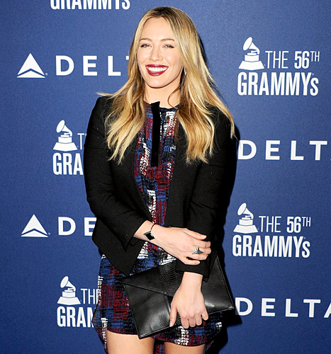 Hilary Duff Rocks Sexy Minidress, Big Smile on First Red Carpet Since Separating From Mike Comrie: Picture