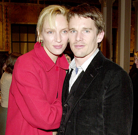 Ethan Hawke Hangs Out With Ex-Wife Uma Thurman at Sundance Film Festival