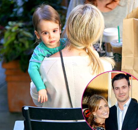 Sarah Michelle Gellar's Son Rocky Looks Just Like Dad Freddie Prinze Jr.: Picture
