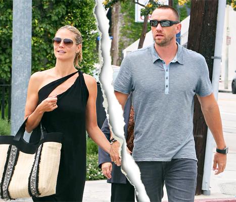 Heidi Klum, Boyfriend Martin Kirsten Split