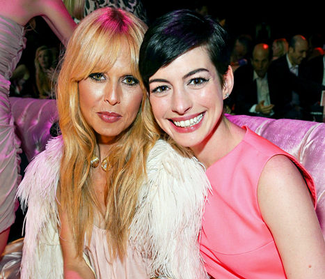 "Anne Hathaway Parts Ways With Longtime Stylist Rachel Zoe: ""There Is No Bad Blood"""