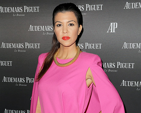 "Kourtney Kardashian Slams Fellow Plane Passengers for ""Telling Other People's Children to Cover Their Mouths"""