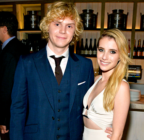 "Emma Roberts: Fiance Evan Peters ""Thought I Was So Weird"" When We First Met"