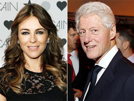 """Elizabeth Hurley Slams Bill Clinton Affair Rumor: It's """"Ludicrously Silly,"""" """"Totally Untrue"""""""