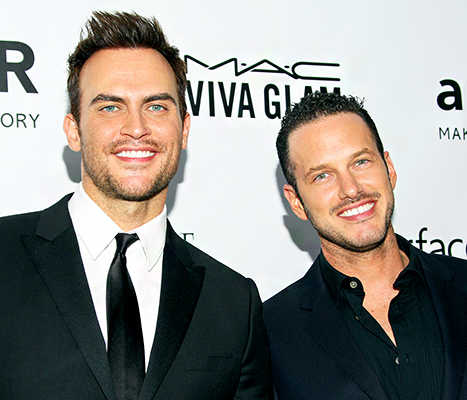 Cheyenne Jackson Engaged to Jason Landau Six Months After Divorce