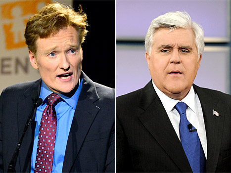 "Conan O'Brien Mocks Jay Leno's Tonight Show Exit With One ""Good"" Joke"