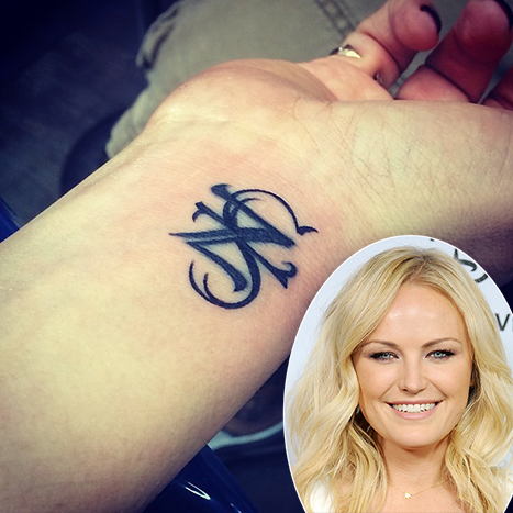 Malin Akerman Alters Tattoo For Estranged Husband, Now Reads Son's Initials: Picture