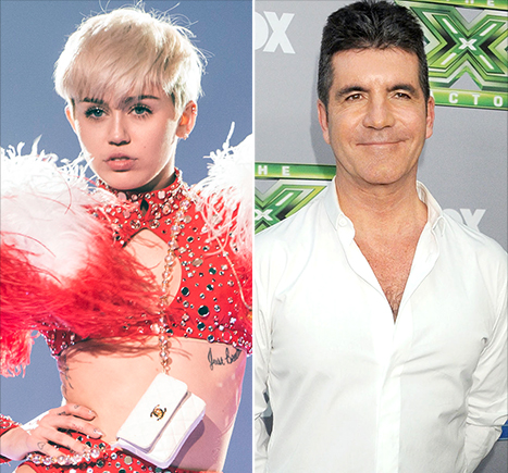 Miley Cyrus Starts Bangerz Tour, Simon Cowell Shares Photos of His Newborn Son, Eric: Top Weekend Stories