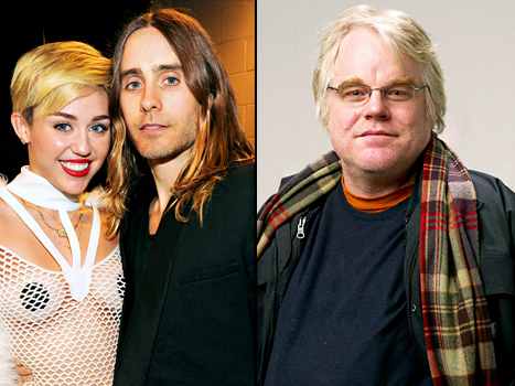 "Miley Cyrus, Jared Leto ""Are Hooking Up,"" Philip Seymour Hoffman's Will Is Released: Top Stories"